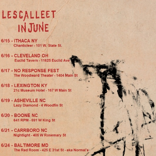 LESCALLEET IN JUNE